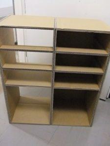 物品棚2列目を作る。