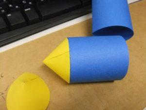 ロケット砲弾を作る。(玩具だよ。)