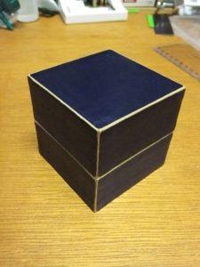 小箱を作る。