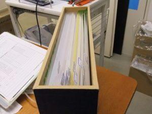 ファイルボックスを作る その2
